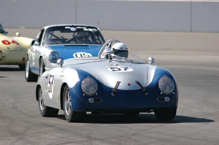 """LYON AIR MUSEUM HOSTS """"VINTAGE MOTOR RACING  WITH A SPECIAL TRIBUTE TO DAN GURNEY"""" EXHIBIT"""