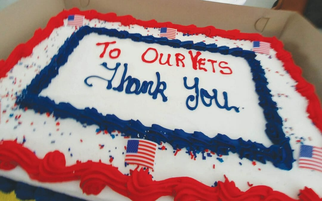 Elk's honored Military Appreciation Month – VETERAN'S DAY BBQ 2020